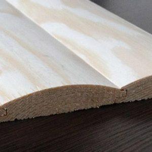 Блок хаус сосна 130(135) * 35 * 4000(4500)мм 2-й сорт