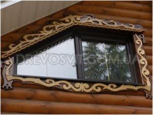 декорация окна