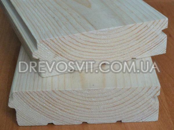 Дошка підлоги сосна 130 (135) * 35 * 4000 (4500) мм 1-й сорт