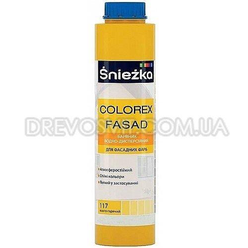 Барвник водно-дисперсійний для фасадних фарб Śnieżka COLOREX FASAD