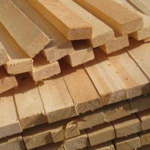 Дерев'яна рейка сосна 40 * 50 * 2000-3000 мм
